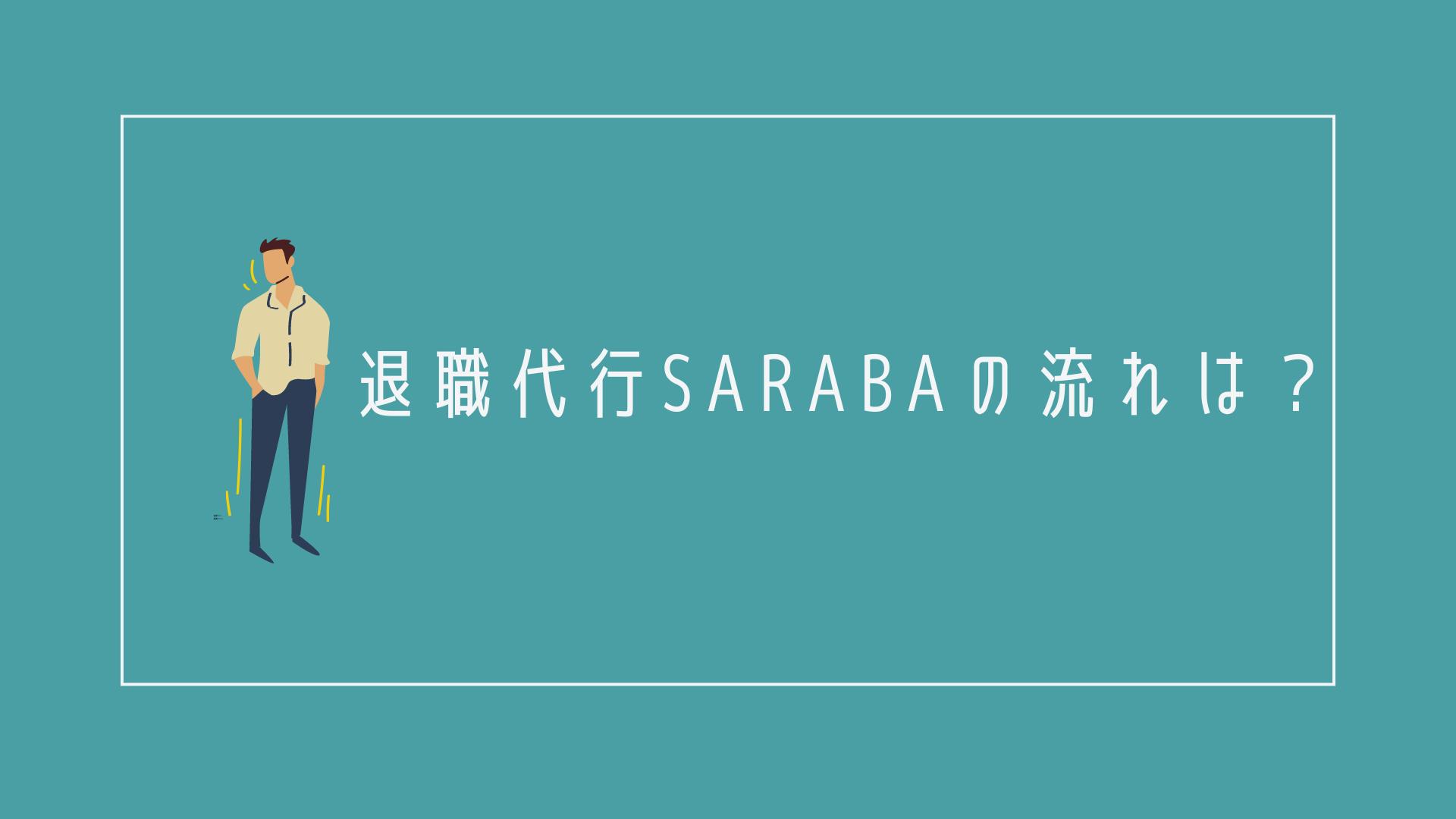 退職代行SARABAの流れ